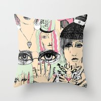 It All Meant Nothing ??? Throw Pillow