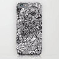 iPhone & iPod Case featuring Ink flowers by Akwaflorell