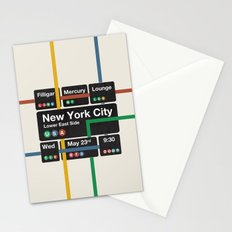 Filligar live in New York Stationery Cards