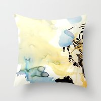 Fearful Symmetry Throw Pillow