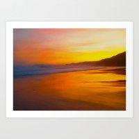 A Beautiful Dawn Art Print