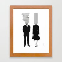 Neuro V1V2 Framed Art Print