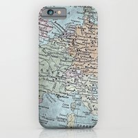 Old Map Of Europe iPhone 6 Slim Case