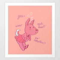 Very Valentines Art Print