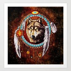 Indian Native Stark Clan… Art Print