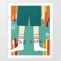 The Shins' Shins Art Print