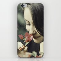 The Flower Lady iPhone & iPod Skin