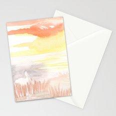 Heron's Head Stationery Cards