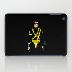Dangerous Jackson on Black iPad Case