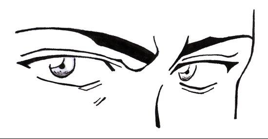 Doubt eyes Art Print