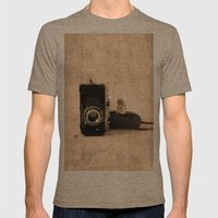 Photography Mens Fitted Tee Tri-Coffee SMALL