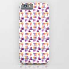 retro triangle iPhone 6 Slim Case