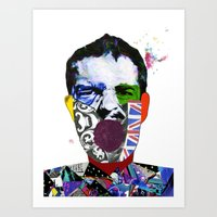 Mr Brandon Flowers, Hey … Art Print