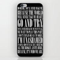 Black Parade iPhone & iPod Skin