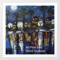 Sold Art Print Thank You Art Print