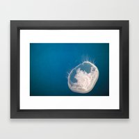 Lonely Pearl Framed Art Print