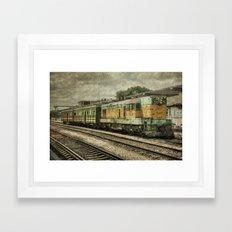 Santa Clara Station  Framed Art Print
