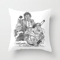 Texas Chainsaw Massacre 2 Throw Pillow
