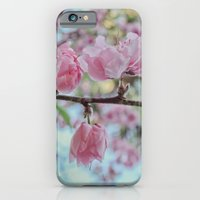 Soft Pink Cherry Blossom Flowers iPhone 6 Slim Case