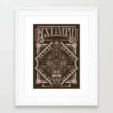 Best in the 'Verse Framed Art Print