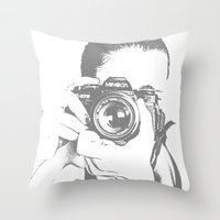 A Different Kind of Art Throw Pillow