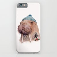 iPhone & iPod Case featuring Tattooed Walrus by Animal Crew