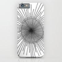 iPhone & iPod Case featuring Porpita Porpita I B&W by Felipe B. C. Gama