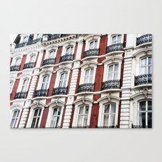 london red  Canvas Print