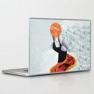 Laptop & iPad Skin featuring SUN by Lerson Pannawit