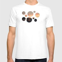 October Mens Fitted Tee White SMALL