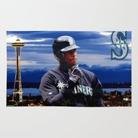 Ken Griffey Jr Seattle M… Rug