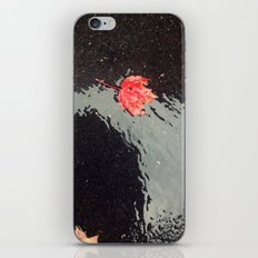 The Red Leaf iPhone & iPod Skin