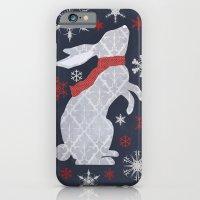 iPhone & iPod Case featuring Winter Rabbit by Robert Scheribel