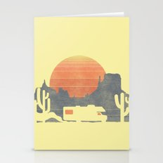 Trail of the dusty road Stationery Cards