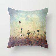 Her Mind Wandered In Bea… Throw Pillow