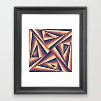 TwiangleTres Framed Art Print