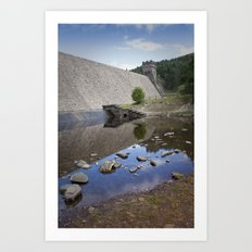 Mighty Wall Across the Valley Art Print