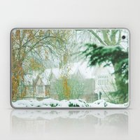 Snowy Morning Laptop & iPad Skin