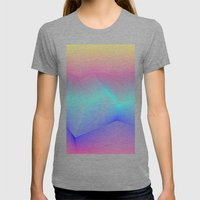Miami Womens Fitted Tee Tri-Grey SMALL