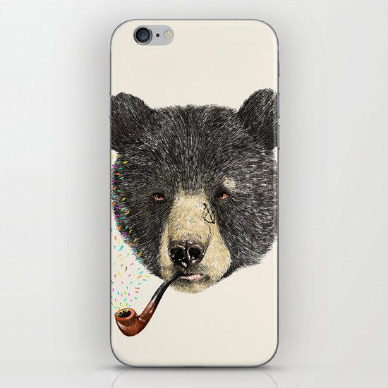 BLACK BEAR SAILOR iPhone & iPod Skin