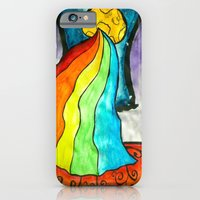 """iPhone & iPod Case featuring """"Sleep Deprivation""""  by Holly Lynn Clark"""
