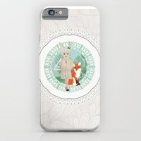 iPhone & iPod Case featuring Woodland by Crea Bisontine