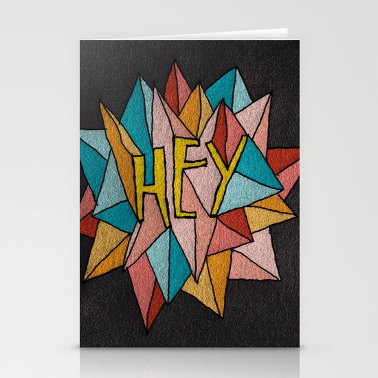 HEY Stationery Card