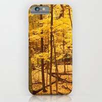 iPhone & iPod Case featuring Sunset Forest by Jasmine Cupp