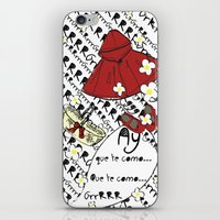 Little Red Riding Hood by Piarei iPhone & iPod Skin
