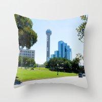 Reunion Tower, Dallas Throw Pillow