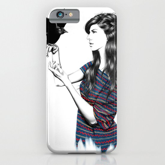 Dark Wings iPhone & iPod Case