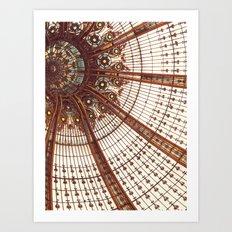 Splendor in the Glass Art Print