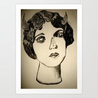 1922 Lila Lee portrait Art Print