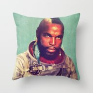 Throw Pillow featuring I Ain't Gettin On No Roc… by Rubbishmonkey
